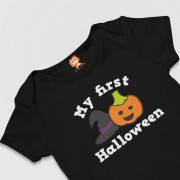 Body ou Camiseta My First Halloween