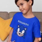 Body ou Camiseta Sonic