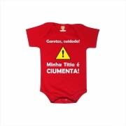 Body ou Camiseta Titia Ciumenta