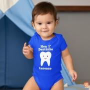 Body Personalizado Meu Primeiro Dentinho