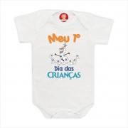 Body Primeiro Dia das Crianças Olaf