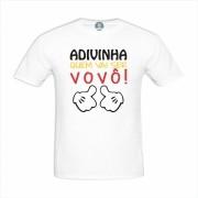 Camiseta Adivinha Quem Vai Ser Vovô