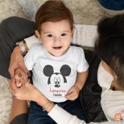 Camiseta Infantil de Aniversário Mickey