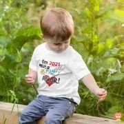 Camiseta Infantil ou Body 2021 Paz e Amor