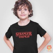 Camiseta Infantil ou Body Stranger Things Série