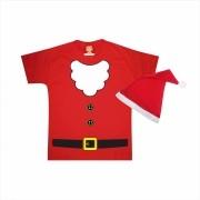 Camiseta Infantil Papai Noel