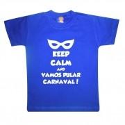 Camiseta ou Body de Bebê Vamos Pular Carnaval