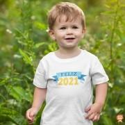 Camiseta ou Body Infantil Feliz 2021