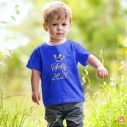 Camiseta ou Body Infantil Feliz 2021 Coroa