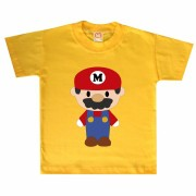 Camiseta ou Body Super Mario Cute