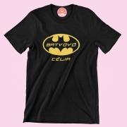 Camiseta Super Heroina Bat Vovó