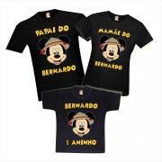 Camisetas Aniversário Personalizadas Festa Mickey Safari