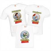 Camisetas Aniversário Toy Story