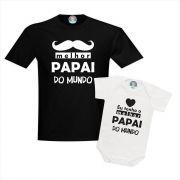 Camisetas Eu Tenho o Melhor Papai do Mundo