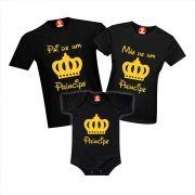 Camisetas Família Príncipe / Princesa