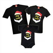 Camisetas Natal em Família - Papai Noel