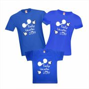 Camisetas Viagem Disney Mickey Orlando Family Vacation Personalizadas