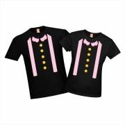 Kit 2 Camisetas de Adulto Mundo Bita Suspensório
