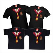 Kit 4 Camisetas Harry Potter Grifinória