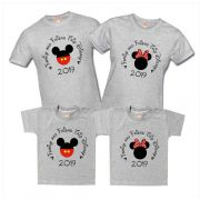Kit Camisetas Disney Mickey Minnie Family And Friend Trip Disney Personalizadas