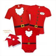 Kit Camisetas Família Noel - Infantil Filho Noel