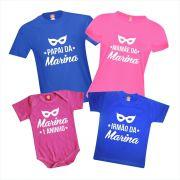 Kit Camisetas Festa Baile de Carnaval
