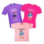 Kit Camisetas Festa Galinha Pintadinha Rosa