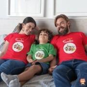 Kit Camisetas Natal em Família Disney