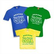 Kit Camisetas Primeira Copa do Mundo em Família