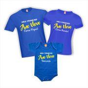 Kit Camisetas Primeiro Ano Novo em Família (menino)