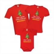 Kit Camisetas Primeiro Natal Árvore