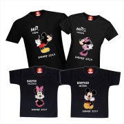 Kit Camisetas Viagem Disney Mickey e Minnie