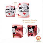 Kit Canecas Mickey e Minnie