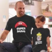 Kit Dia dos Pais Chapéu Super Mario e Princesa Peach