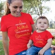 Kit Mãe e Filho Primeiro Natal Personalizado
