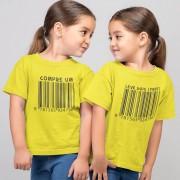 Kit Roupinhas Código de Barras Compre 1 Leve 2 Irmãos Gêmeos