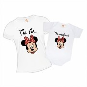 Kit Tia e Sobrinha Minnie