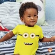 Roupinha de Bebê ou Camiseta Minions Meu Malvado Favorito