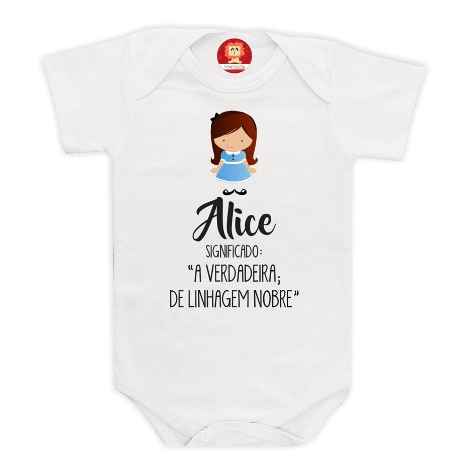 Bodie Personalizado Com Nome da Bebê
