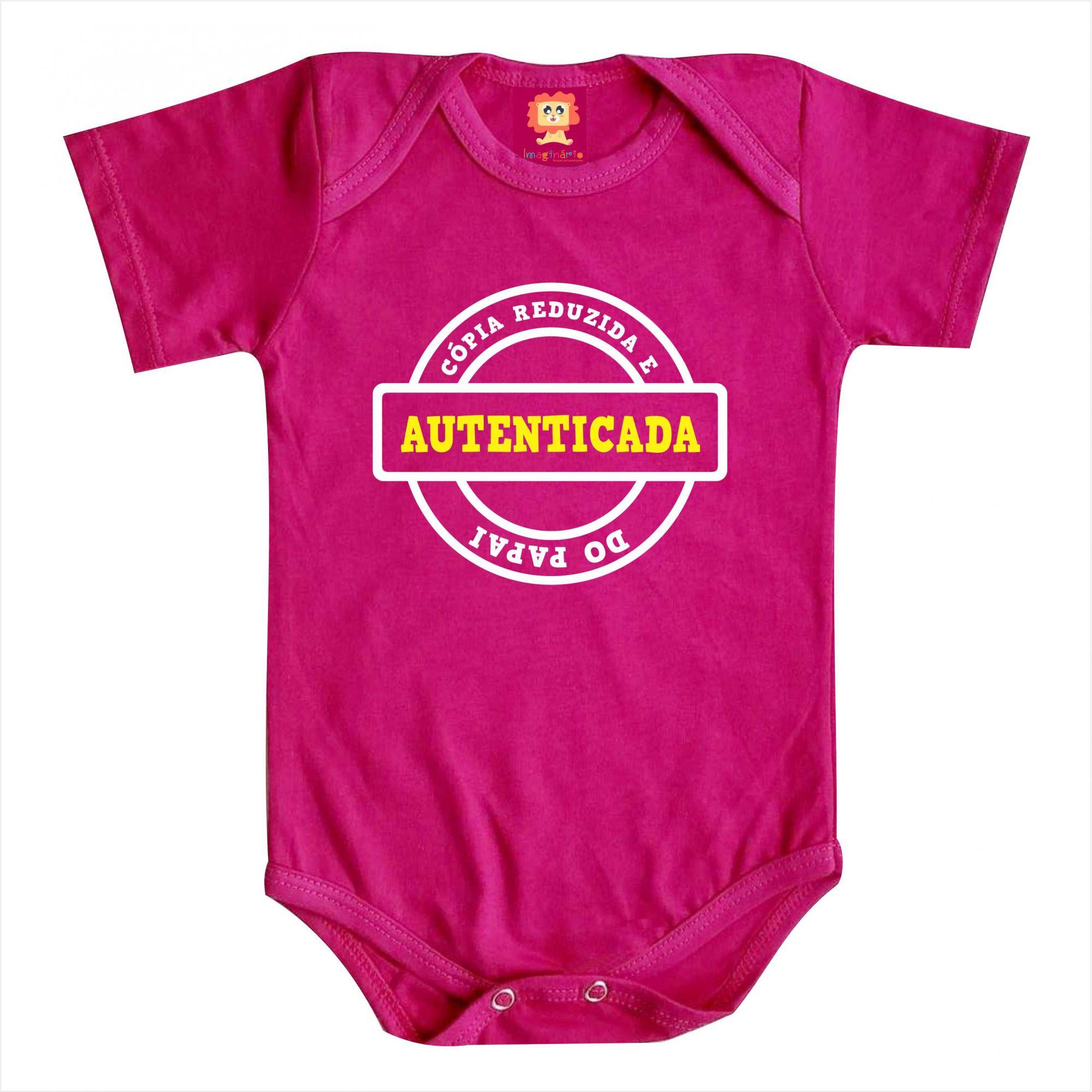 Body Bebê ou Camiseta Cópia do Papai