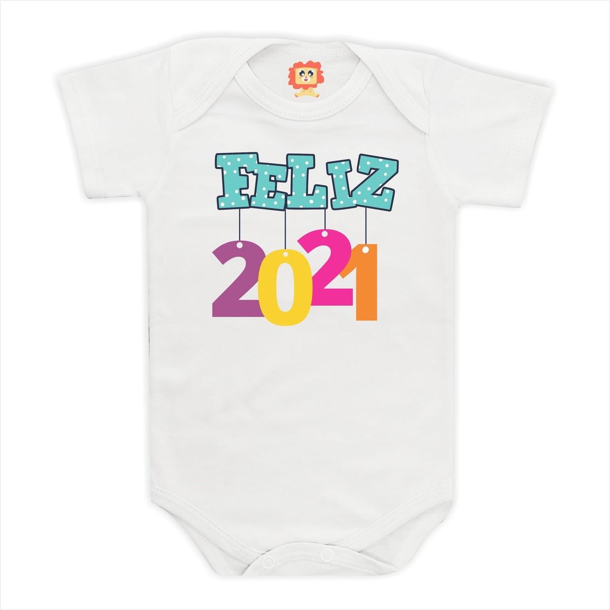 Body de Bebê Feliz 2021