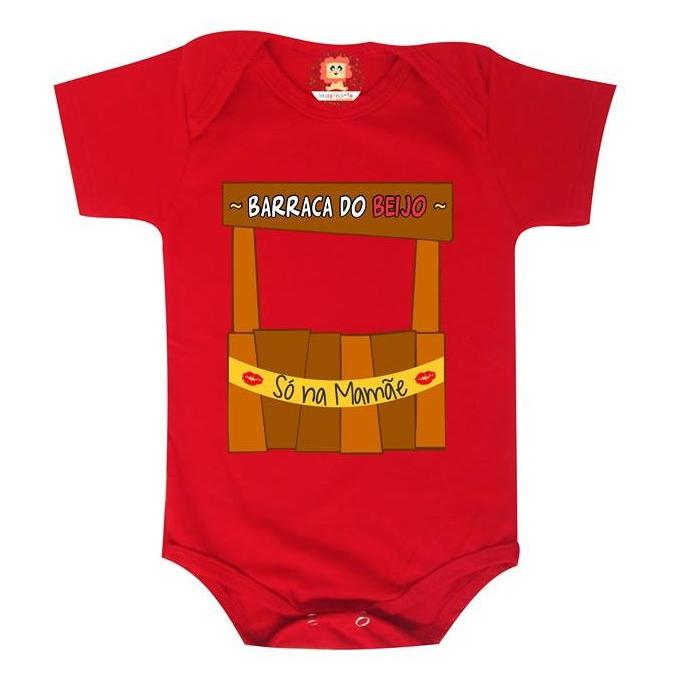 Body de Bebê ou Camiseta Barraca do Beijo