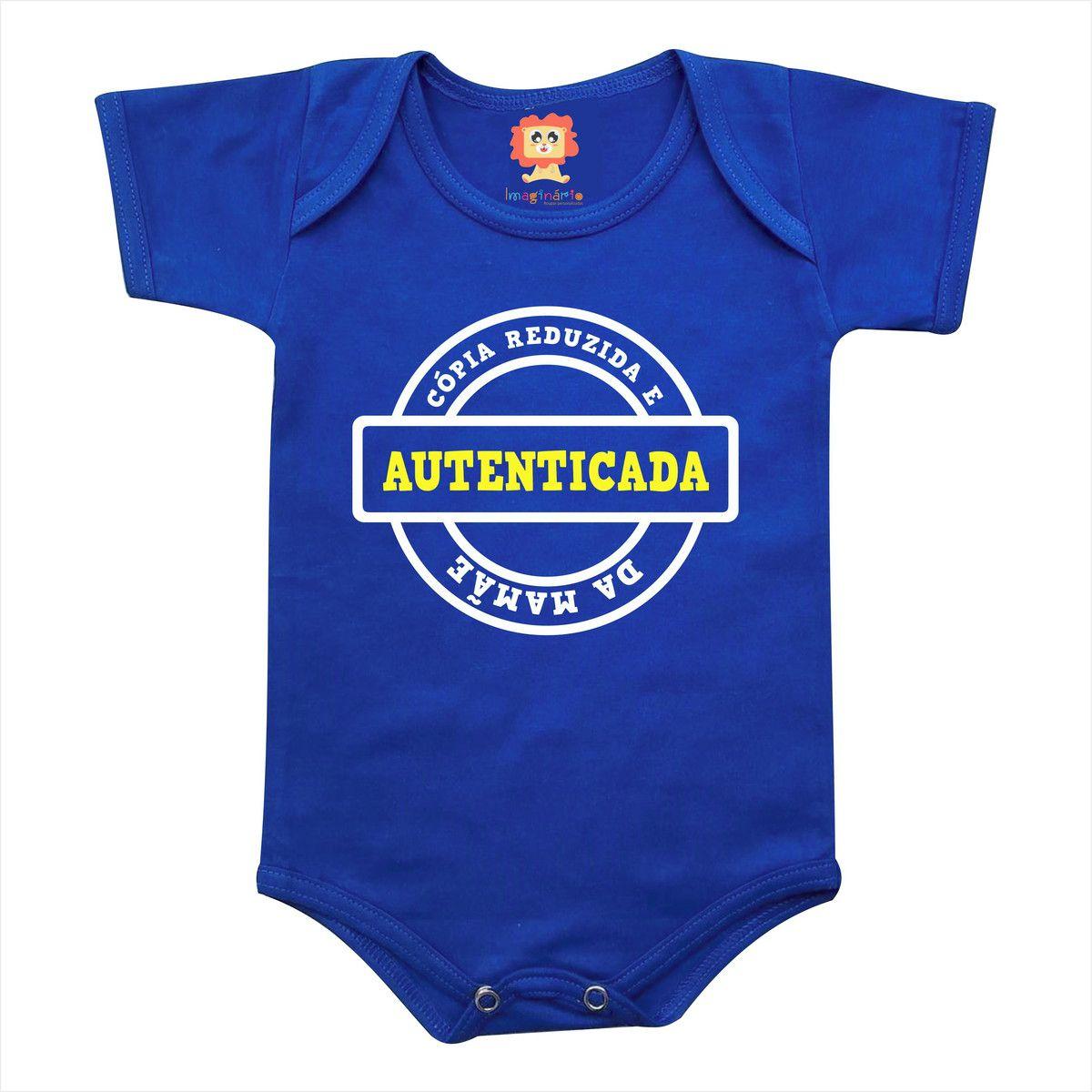 Body de Bebê ou Camiseta Cópia da Mamãe