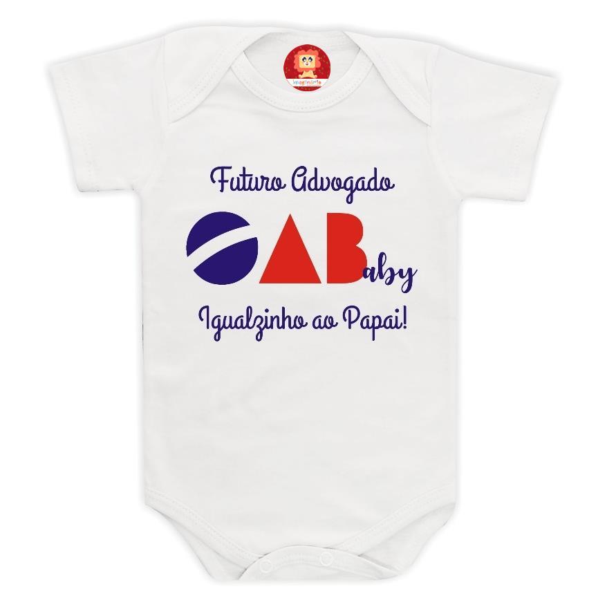 Body de Bebê ou Camiseta Futuro Advogado