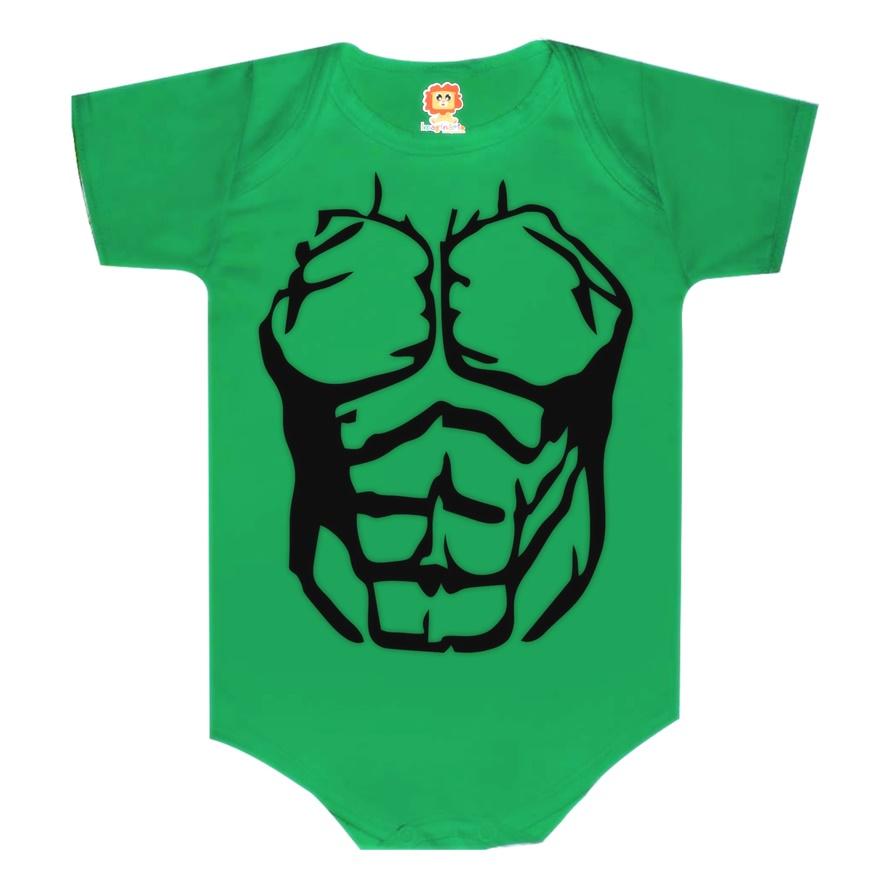 Body de Bebê ou Camiseta Infantil Hulk