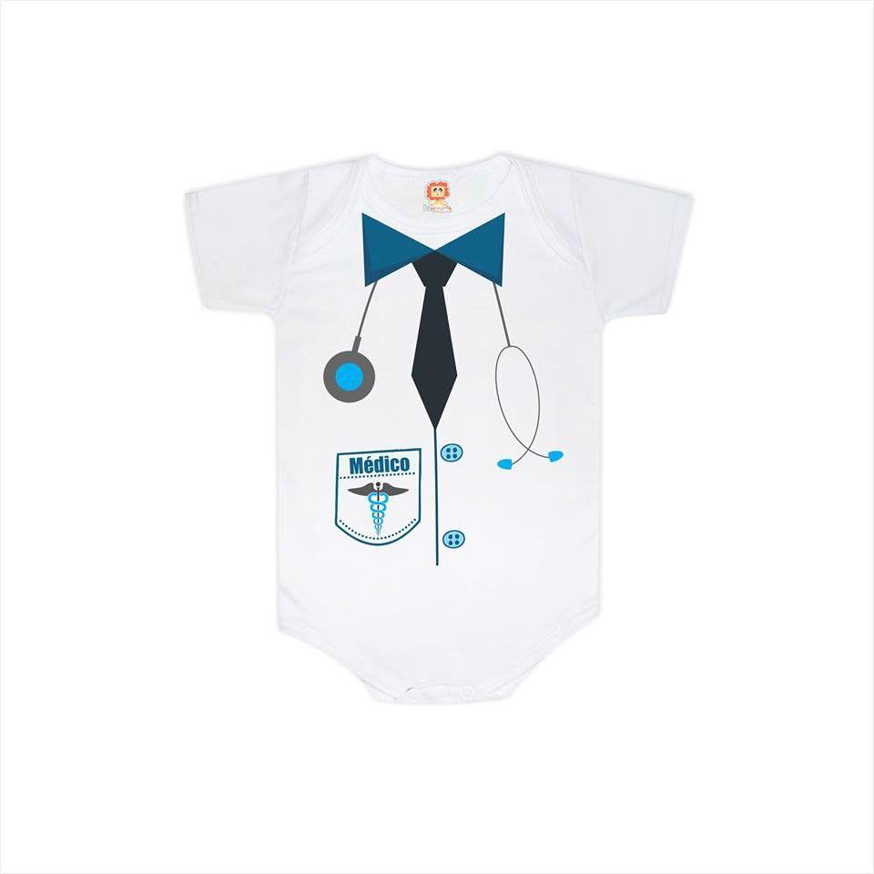 Body de Bebê ou Camiseta Médica(o)