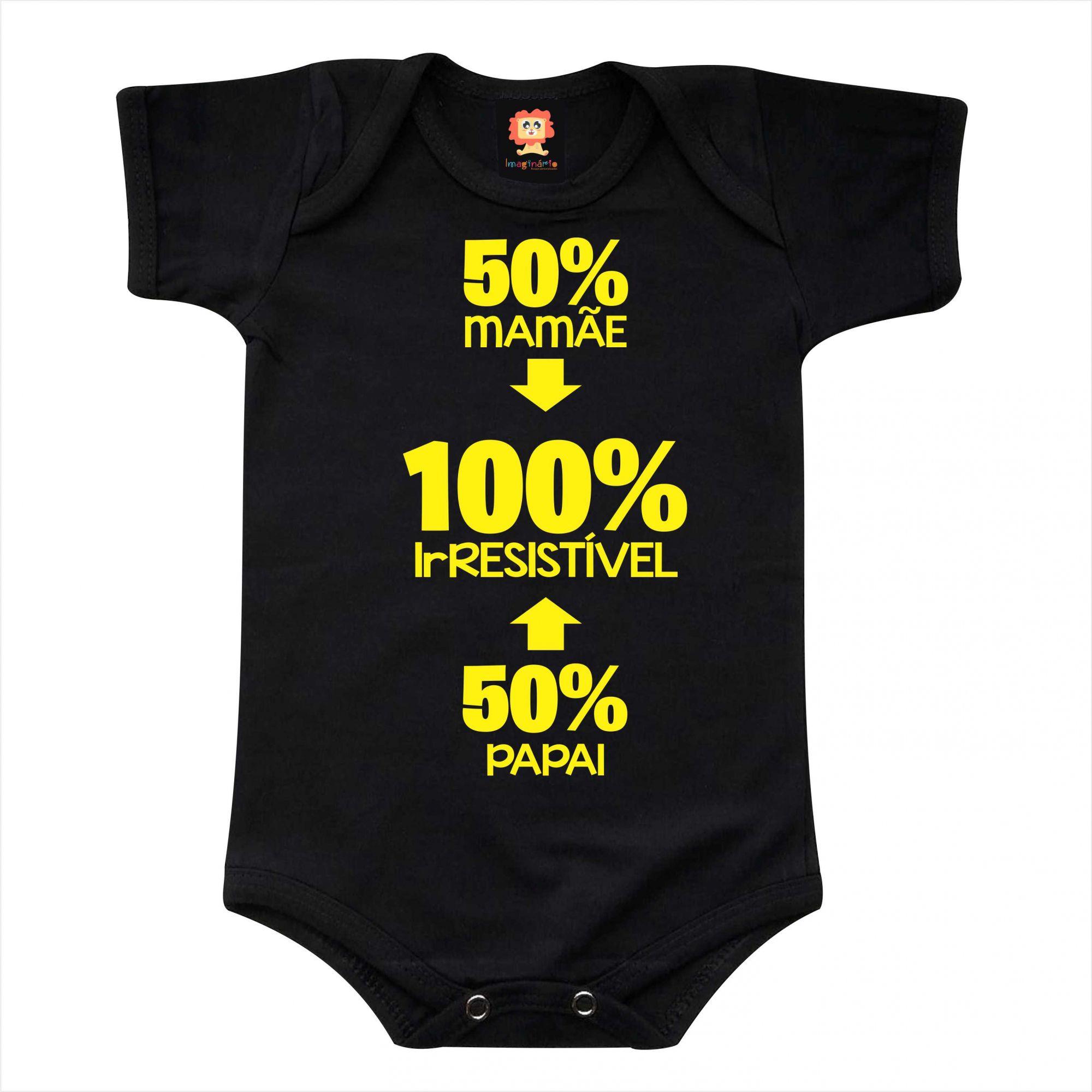 Body de Bebê ou Camiseta Papai Mamãe Irresistível