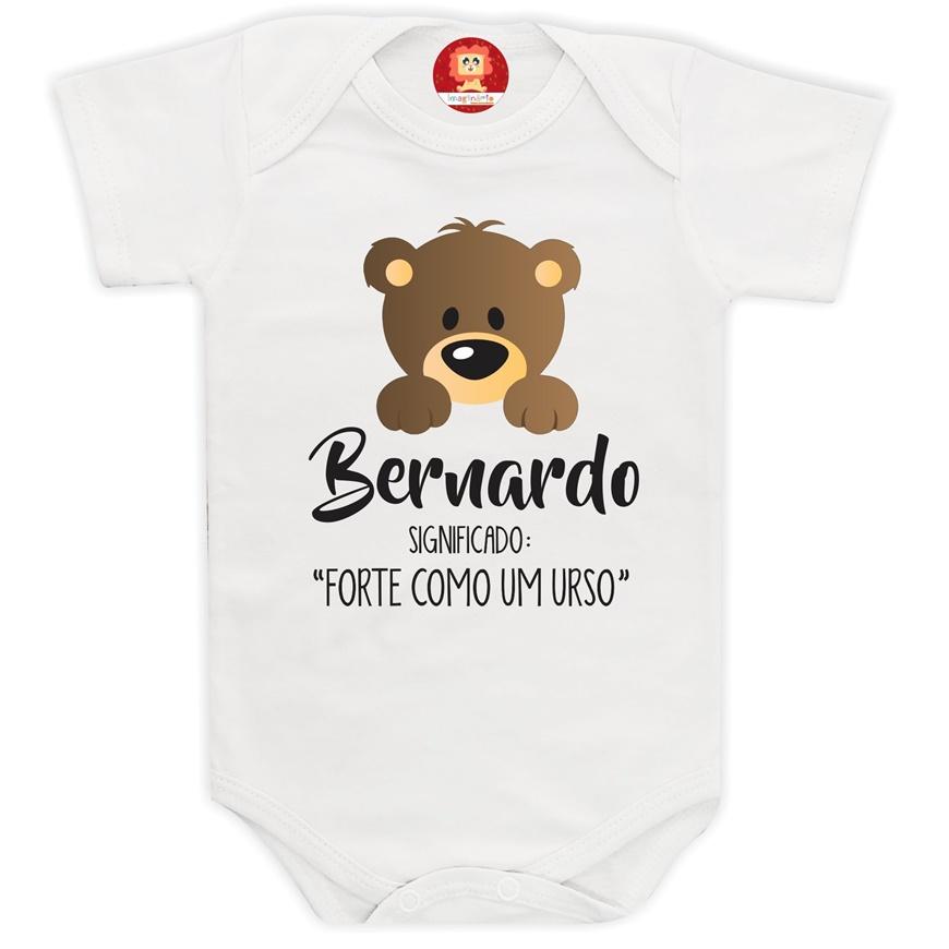 Body de Bebê Significado do Nome