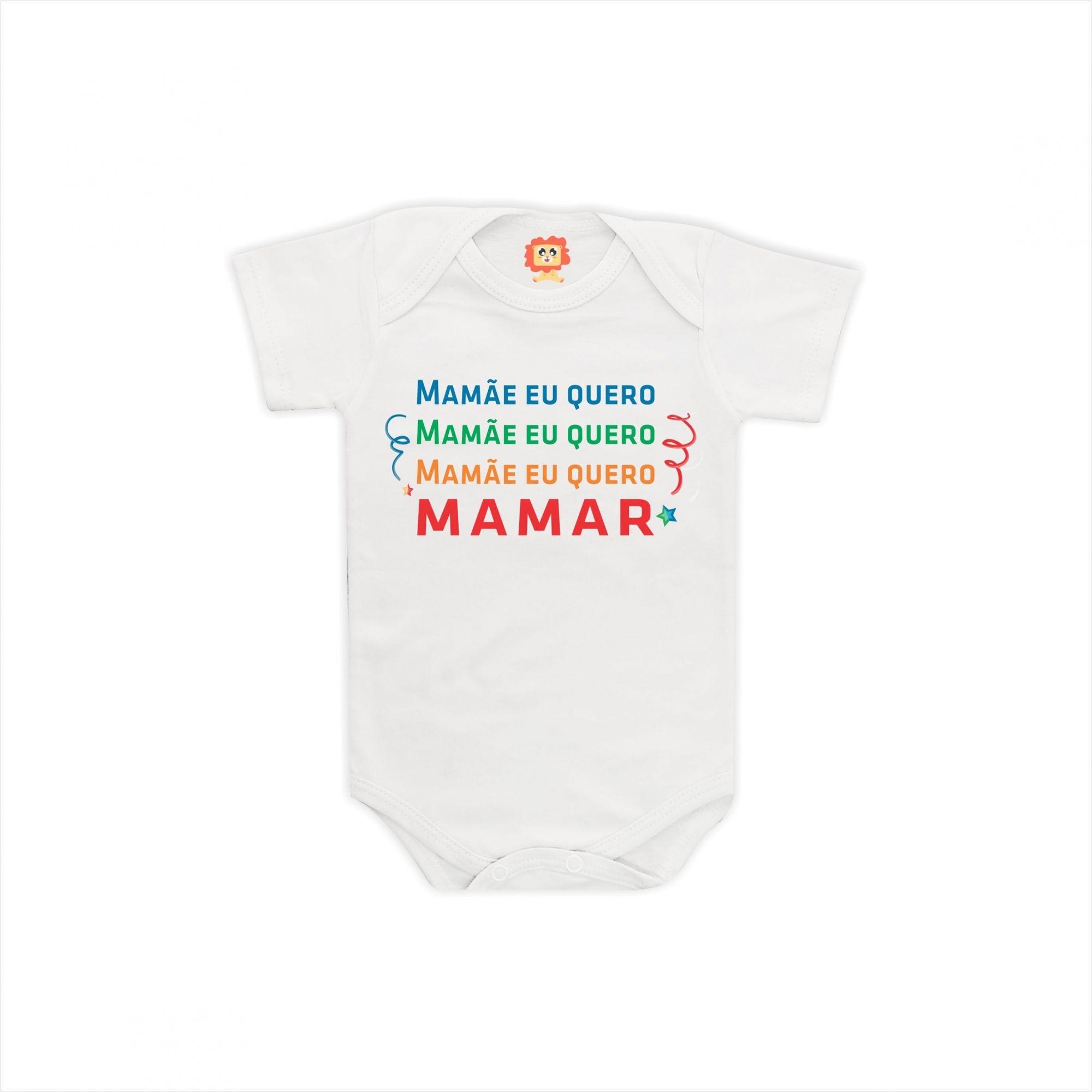Body Mamãe Eu Quero