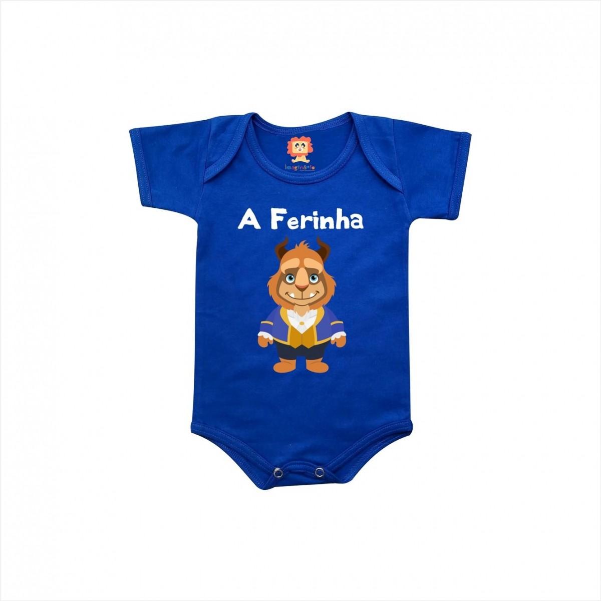 Body de Bebê ou Camiseta A Ferinha